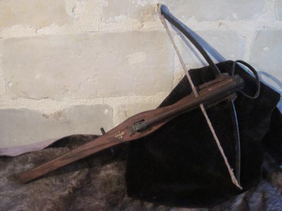 Arbalète à baguette Louis XI