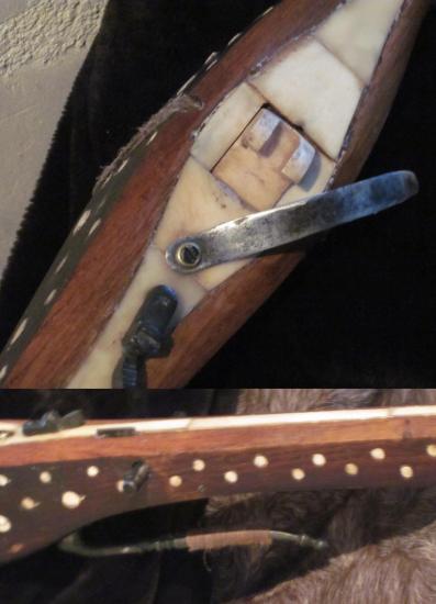 Arbalète à cranequin décorée  modèle 2