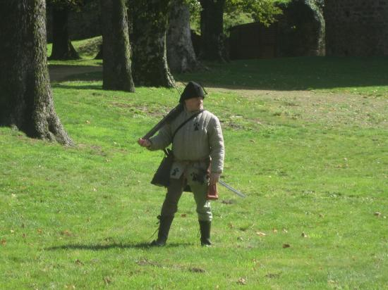 Arbalétrier XIVe à la chasse (Compagnie
