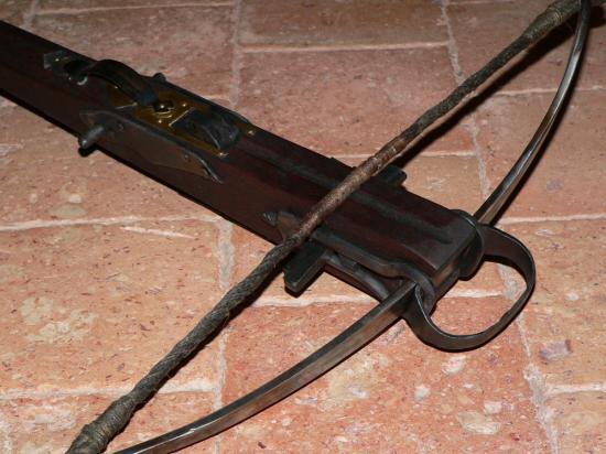 Arbalète de cavalier finition de luxe (arc, corde et étrier)