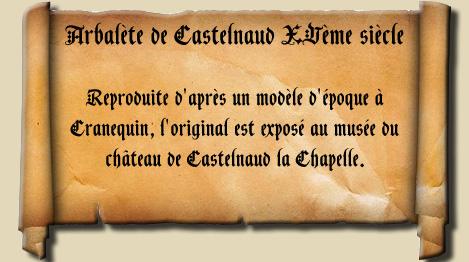 Arbalète de Castelnaud