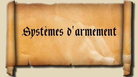 systemes d'armement